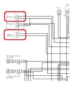 CRF250L MD44回路図