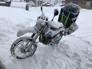 SERROW225(YAMAHA XT225) SNOW TOURING